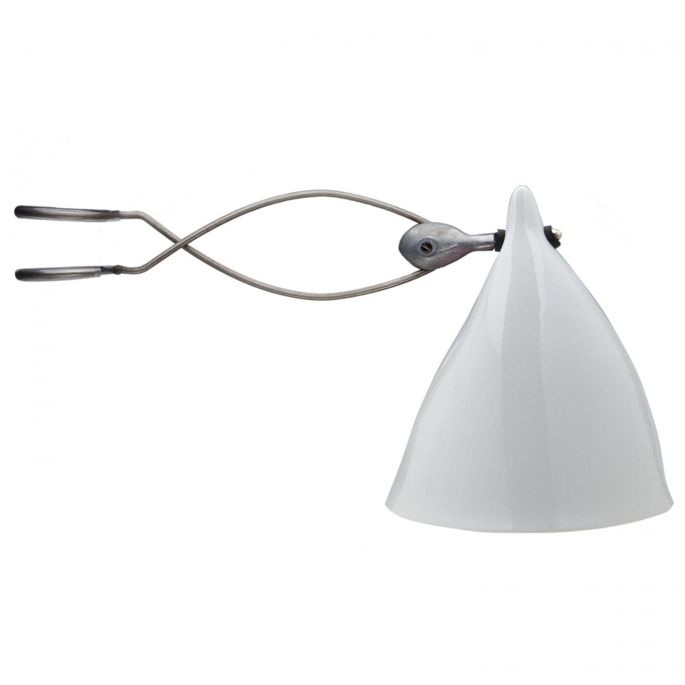 Tsé & Tsé Associées Lampe Cornette à Pincer Porcelaine Brillante