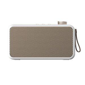 Kreafunk Enceinte bluetooth avec radio FM blanc