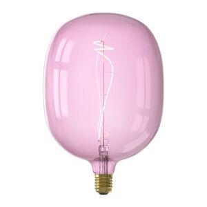 Calex Ampoule filament décorative en verre rose