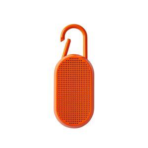 Lexon Enceinte bluetooth avec mousqueton en ABS orange