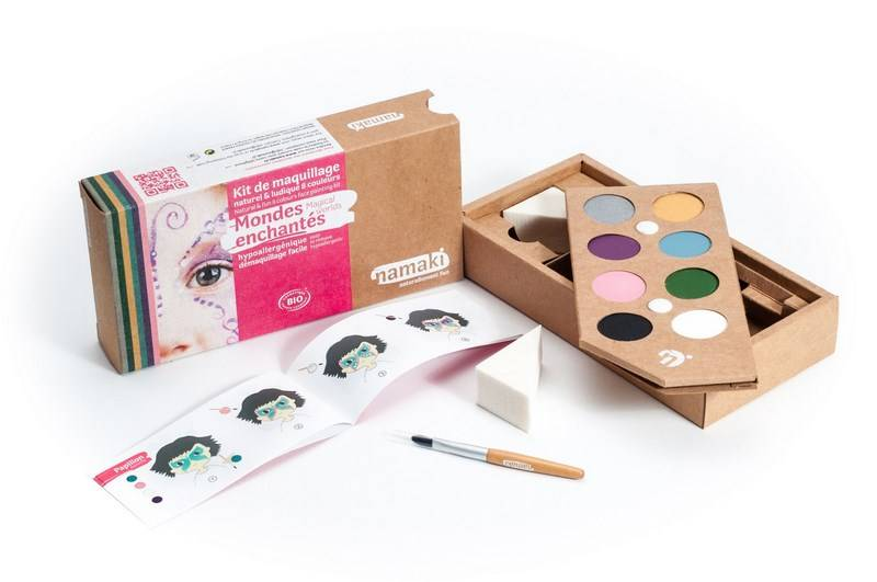 NAMAKI Kit de Maquillage 8 couleurs Mondes enchantés - NAMAKI