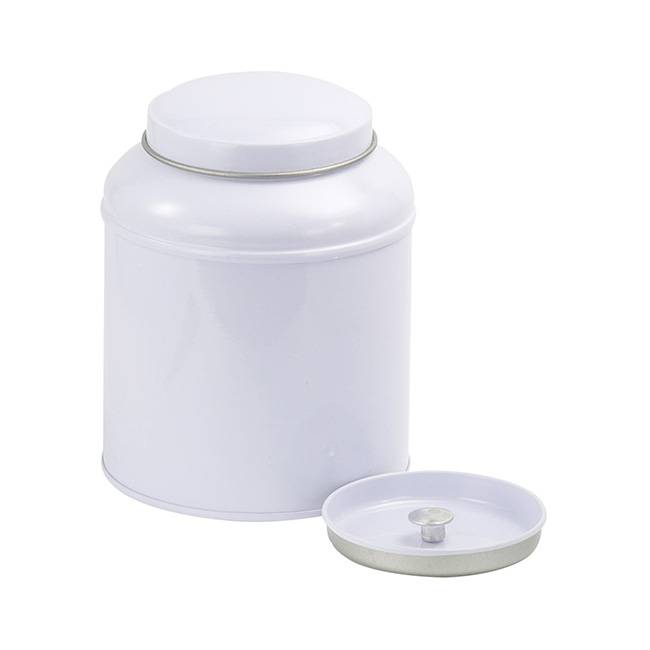 Divers Boîte à thé vintage - 125 g - Blanc