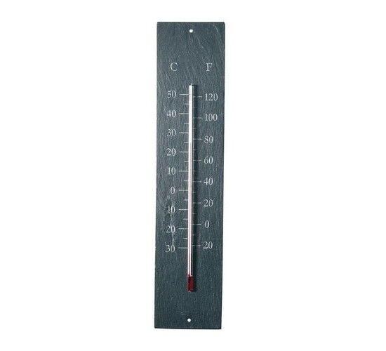 Garden Tools Thermomètre en schiste 45 cm