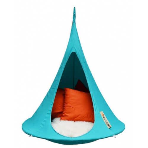 Cacoon Tente suspendue Ø120 cm Cacoon Bonsaï - Turquoise