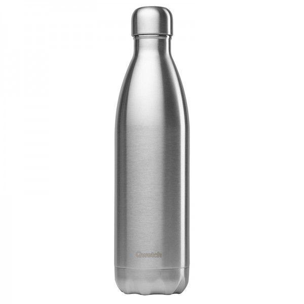 Qwetch Bouteille isotherme en inox sans BPA - 750 ml