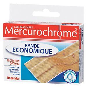 Mercurochrome Bandes économiques Mercurochrome Bande Economique 10 Unités