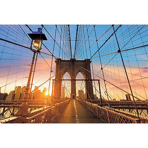 Paperflow Cadre de décoration Pont de Brooklyn Paperflow 65 x 98 cm