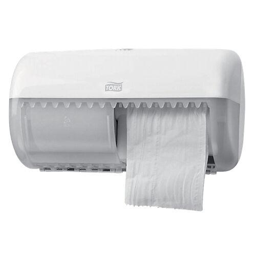 Tork Distributeur de papier toilette Tork Traditionnel 28 6 x 15 3 x 15 8 cm Blanc