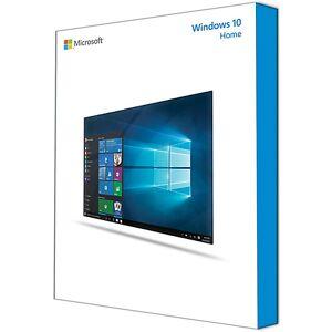 Microsoft Système d'exploitation Microsoft Windows 10 Famille 64 Bits