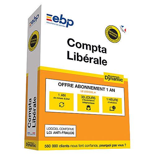EBP Logiciel de gestion EBP Compta Libérale Abonnement Dynamic Windows - Dernière version