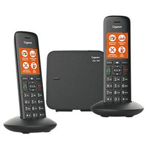 Siemens Gigaset Téléphone Fixe Sans fil Gigaset C570 Duo Noir