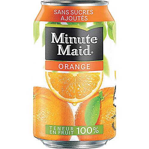 Minute Maid Orange Canette - 24 Unités de 330 ml