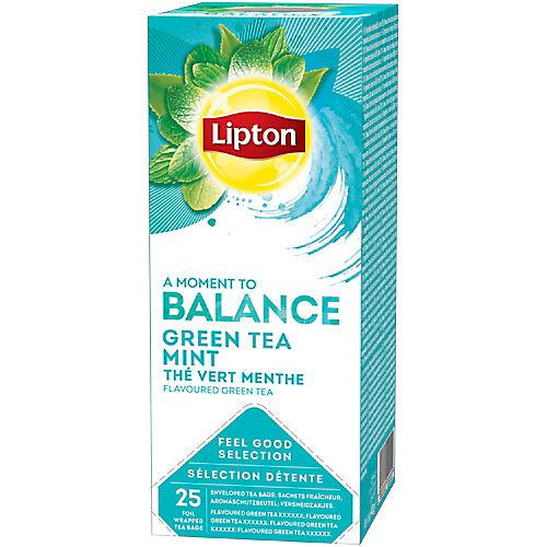 Lipton Sachets de thé vert Menthe Lipton 25 Unités de 1.5 g