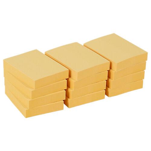 Office Depot Notes adhésives Office Depot 50 x 38 mm Jaune pastel - 12 Unités de 100 Feuilles