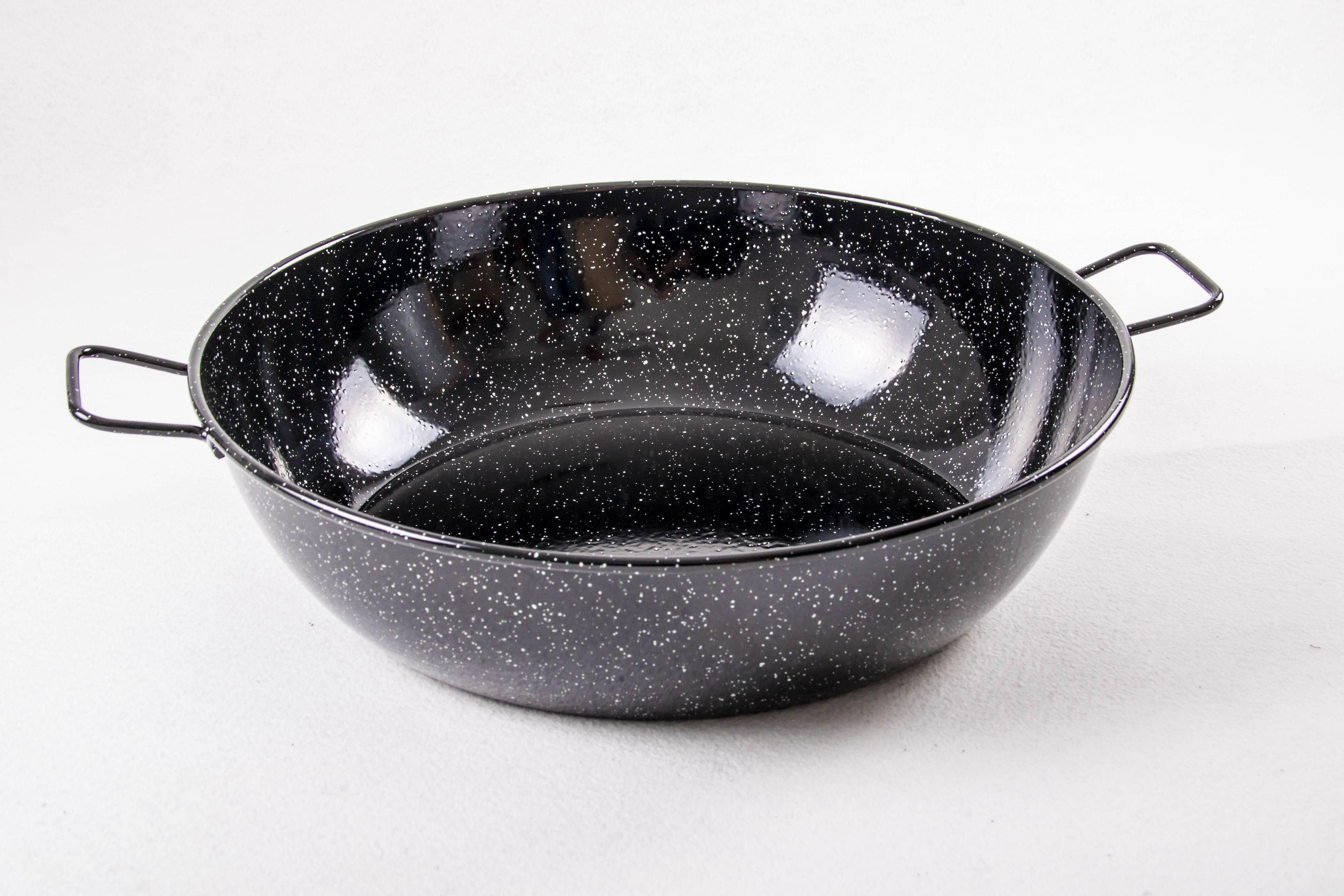 Garcima Poêle creuse acier émaillé 14 cm