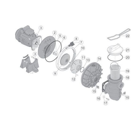 Sta rite N°6 - Garniture mécanique Starite 5P2R ou S5P2R
