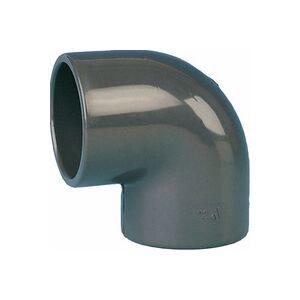 Plomberie-pro Coude PVC pression à 90°, femelle Ø 20