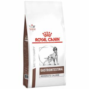 Royal Canin Veterinary Diet Chien Gastro Intestinal Moderate Calorie GIM 23 Contenance : 15 kg