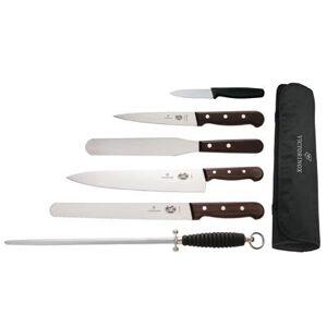 Victorinox Ensemble de 6 couteaux en bois VICTORINOX