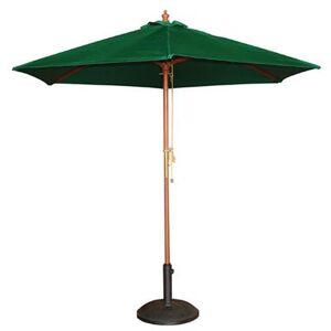 BOLERO Parasol de terrasse rond Boléro vert Ø 2,5 m