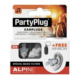 Alpine Bouchons d'Oreilles PartyPlug 1 paire