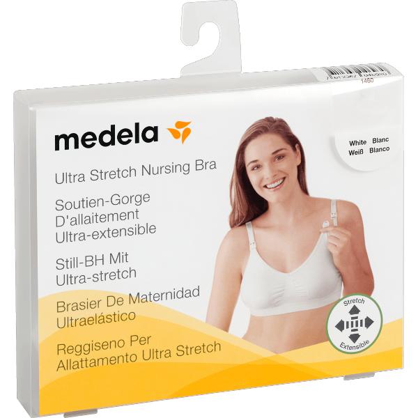 Medela Soutien-Gorge d'Allaitement Blanc Taille L 1 unité