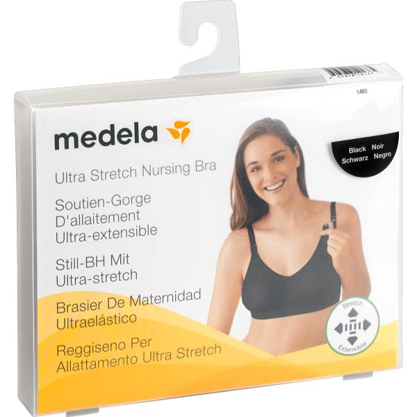Medela Soutien-Gorge d'Allaitement Noir Taille M 1 unité