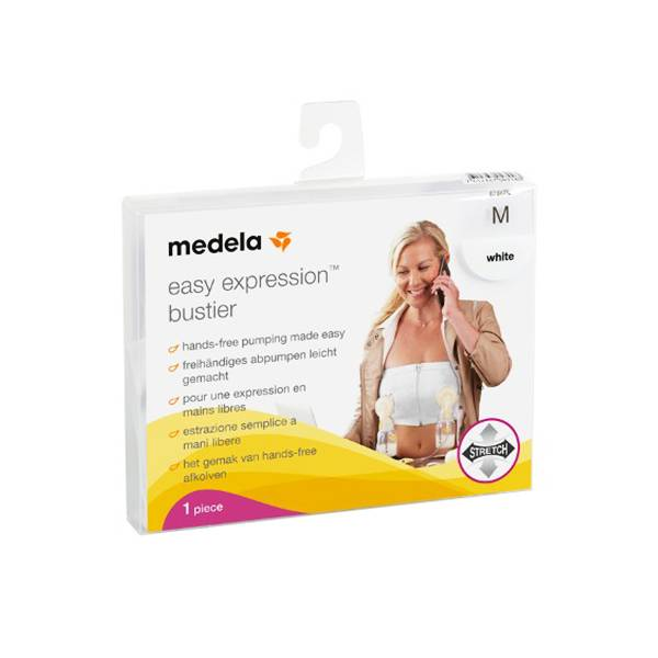 Medela Easy Expression Bustier Taille M Blanc 1 unité
