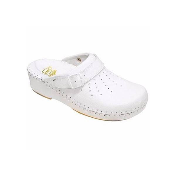 Scholl Chaussures Clog Adapta Taille 35 Blanc
