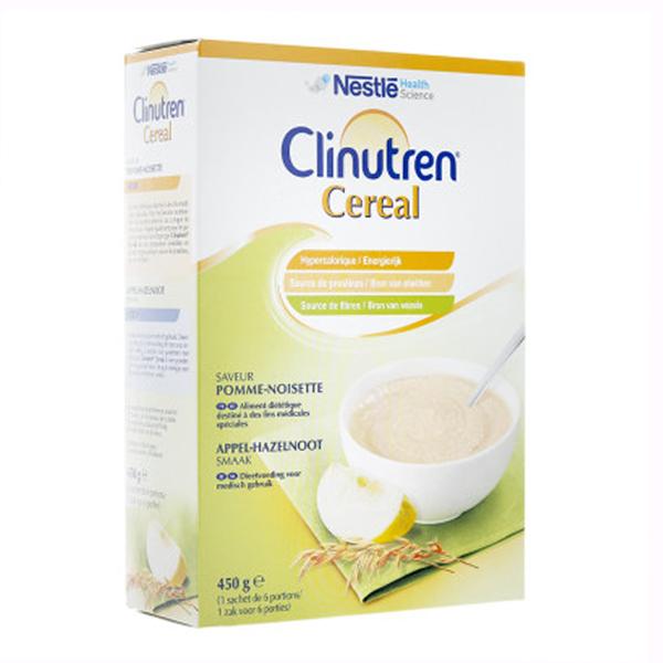 Clinutren Cereal Saveur Pomme Noisette 450g