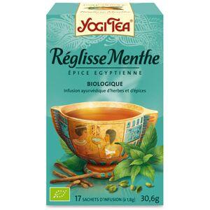 Yogi Tea Réglisse Menthe 17 sachets