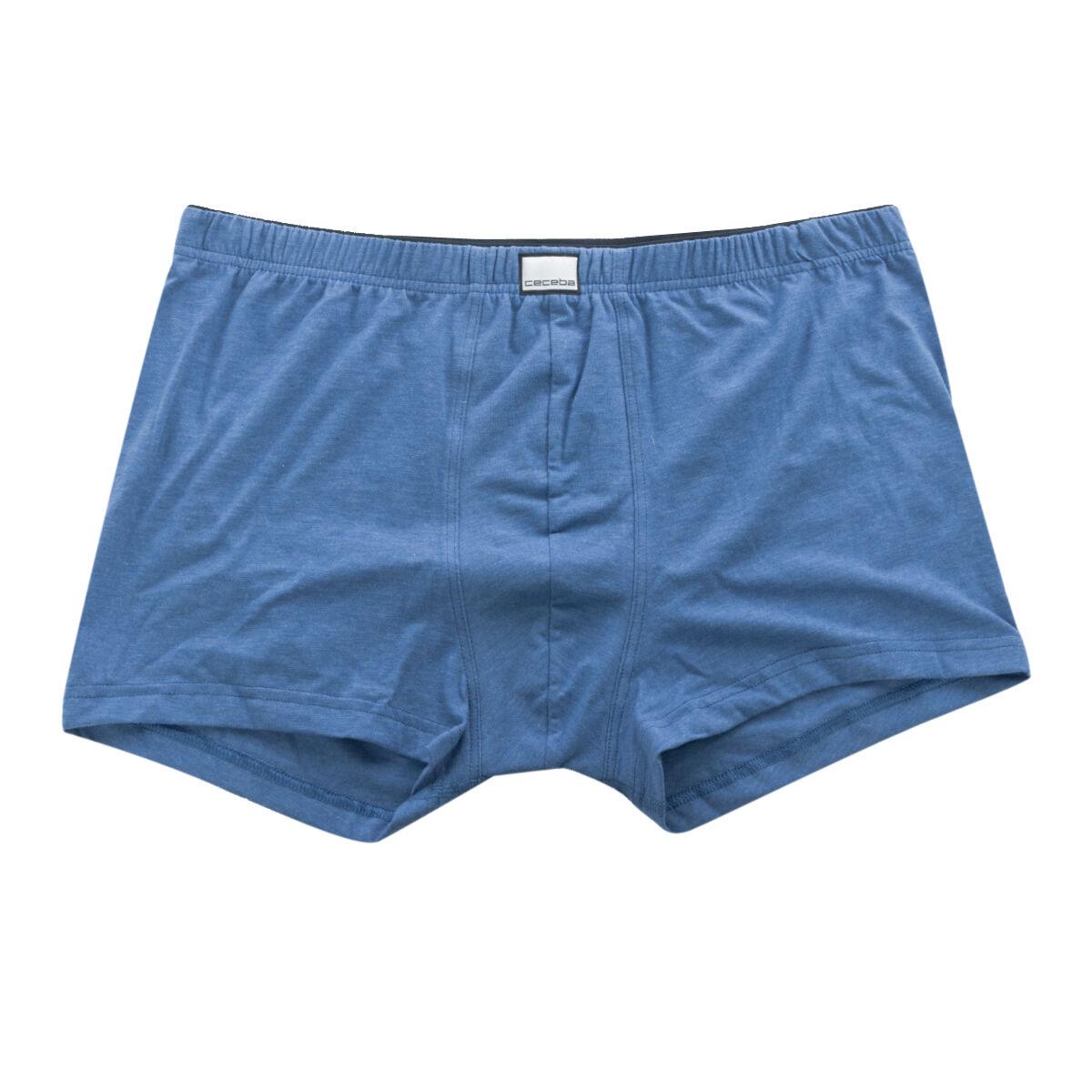 Ceceba Boxer Ceceba grande taille bleu en coton;