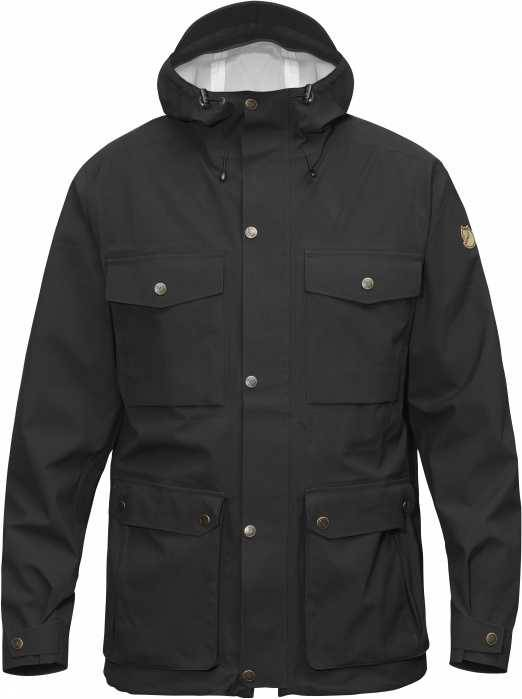 Fjällräven FJALLRAVEN Övik Eco-Shell Jacket Black
