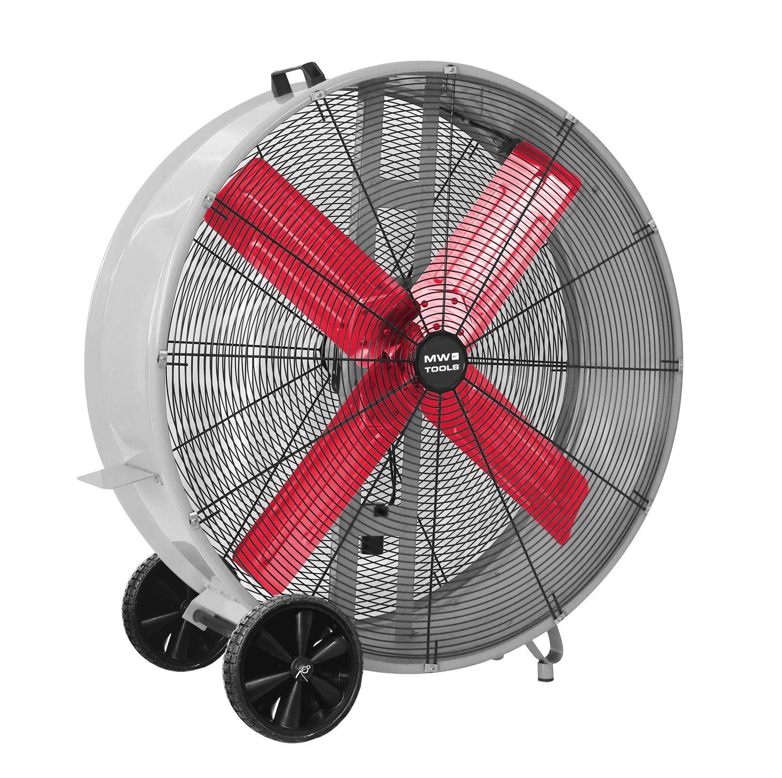 Mw-tools Grand ventilateur brasseur d'air mobile ø 900 mm - 380 W MW-Tools MV900L