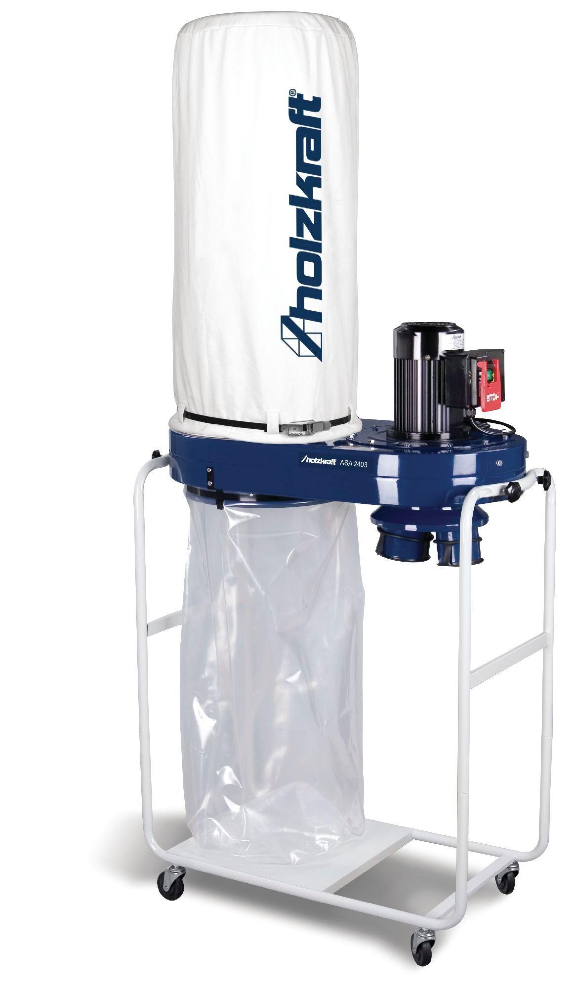 Holzkraft Aspirateur à copeaux 2789 m³/h 1,1 kW 3x400V Holzkraft ASA2403