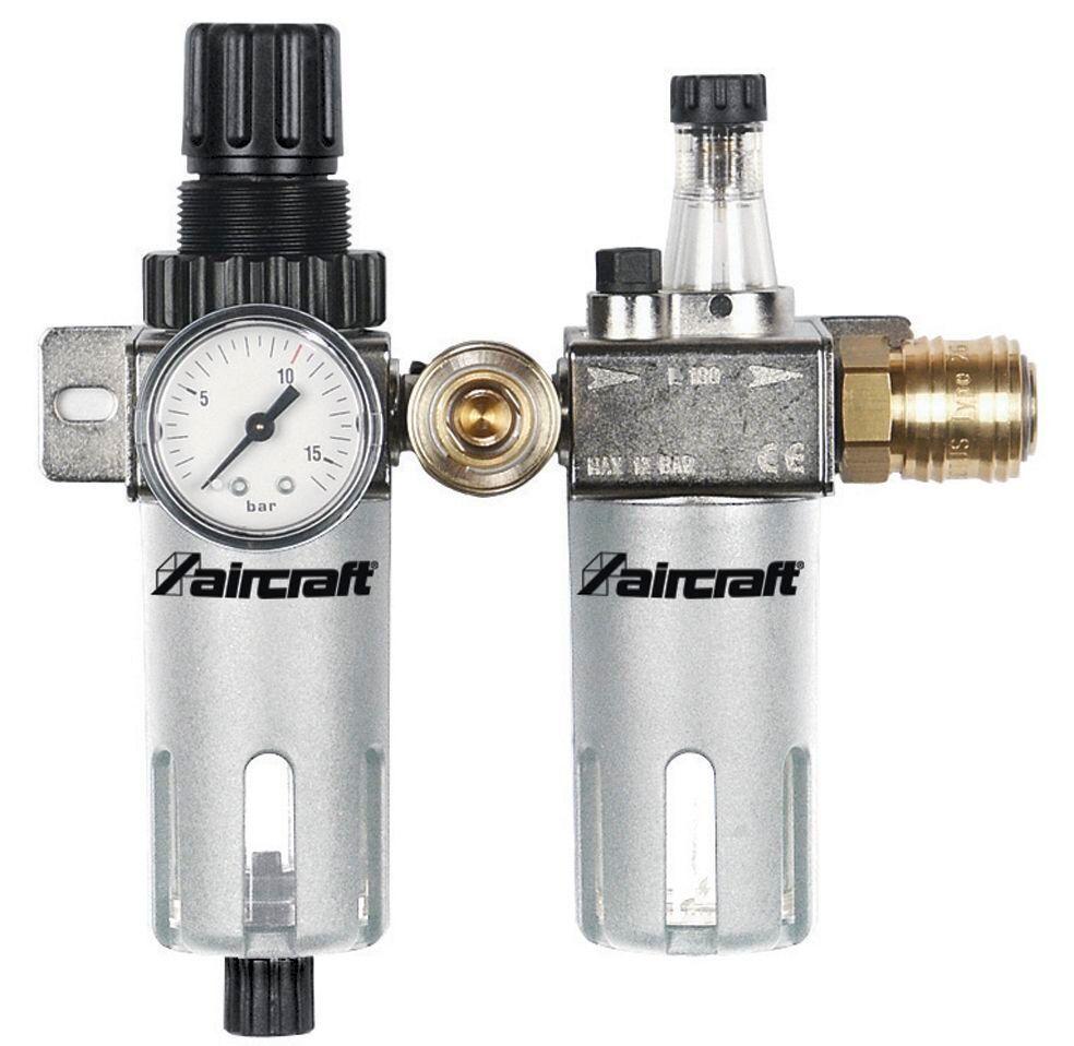 Aircraft Filtre / régulateur de pression + lubrificateur 1/4 - 1/2 Aircraft 2316280