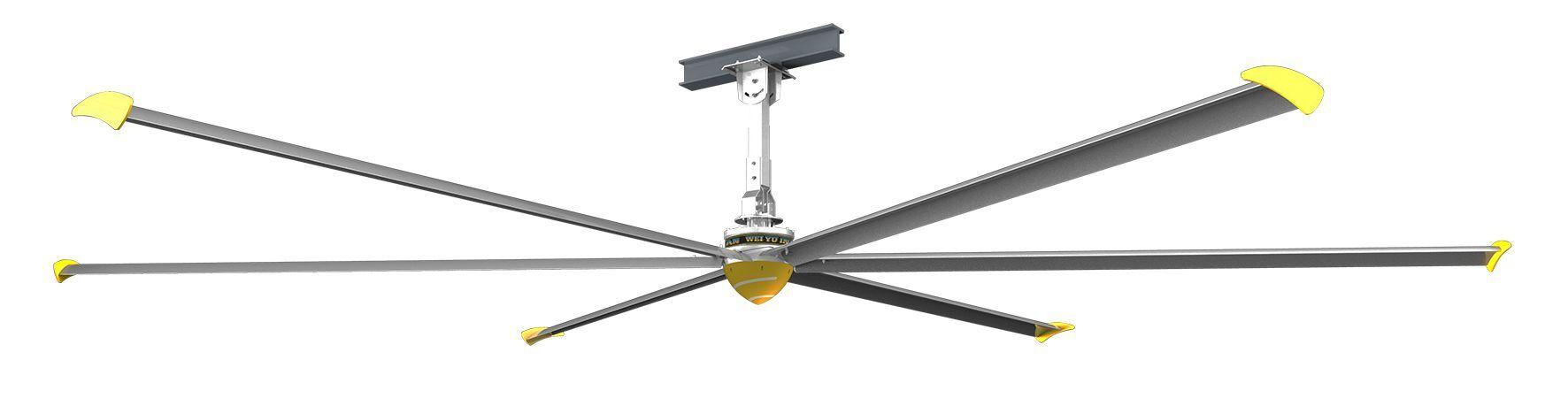 Mw-tools Ventilateur de plafond industriel diamètre 7320 mm MW-Tools PV7300I