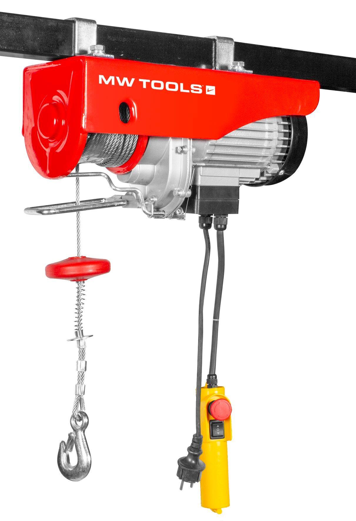 Mw-tools Palan électrique robuste 125/250 kg MW-Tools SH125/250