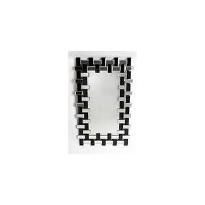 Le Dauphin Belluno miroir rectangulaire miroir et miroir noir