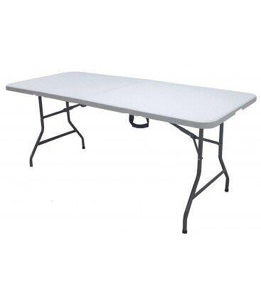 Wadiga Table de Réception Pliable - 180x75cm