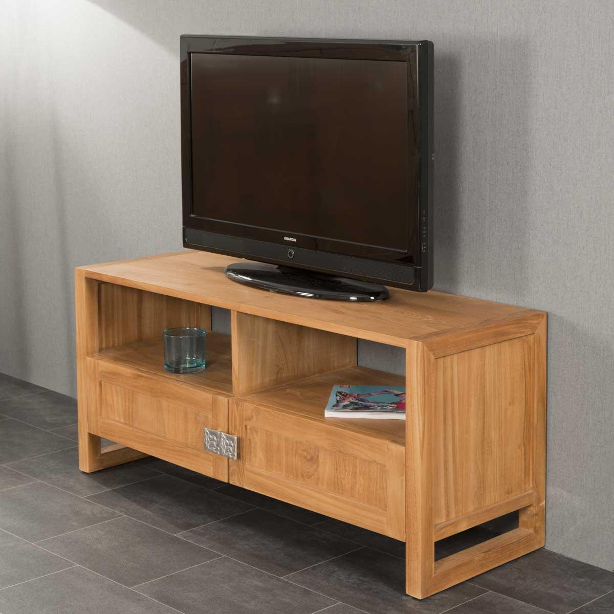 Wanda Collection Meuble TV en teck Thea 110