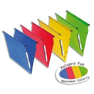 L'oblique az Dossiers suspendus L'Oblique en polypro - pour armoire - fond 30 mm - coloris assortis - boite de 10
