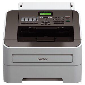 Brother FAX-2840 - Télécopieur / photocopieuse - Noir et blanc - laser - 215.9 x 355.6 mm (original) - 216 x 406.4 mm (support) - jusqu'à 20 ppm (copie) - 250 feuilles - 33.6 Kbits/s