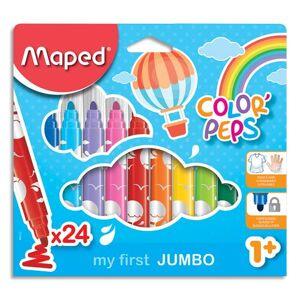 Maped Feutres Maped Jumbo Early Age - pochette de 24