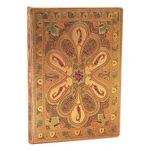Paperblanks Carnet Paperblanks Bukhara Ambre Mini - 9,5 x 14 cm - 176 pages lignées