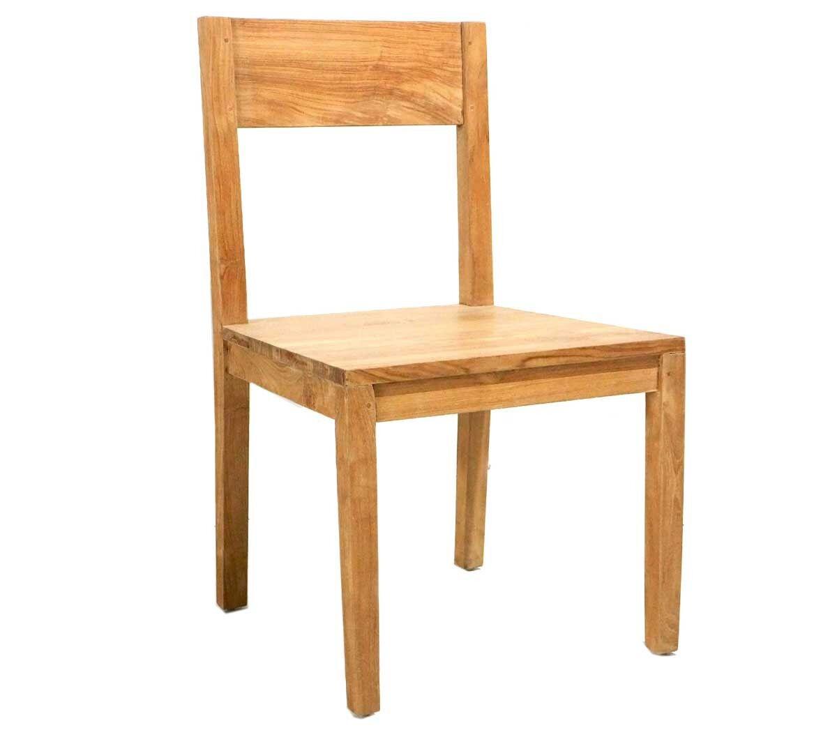 wood-en-stock Chaise en teck d'intérieur Grade A : eyma