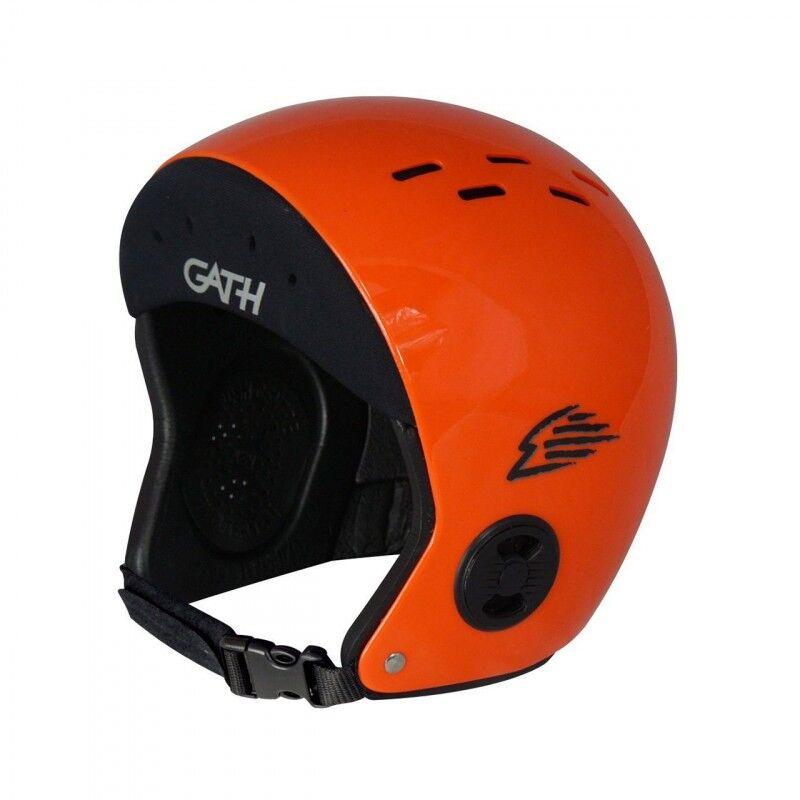 GATH Casque GATH - Hat NEO (Bandeau Neoprene) (Couleurs : Orange, Tailles Casques : L)
