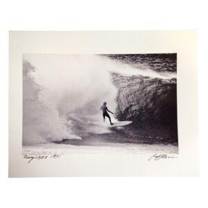 JEFF DIVINE PHOTOGRAPHY Photographie Surf Vintage JEFF DIVINE 'Gerry Lopez At Pipeline 1971' no 1