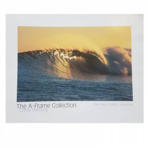 """THE A-FRAME COLLECTION Poster Photo Surf A-FRAME COLLECTION Corey Hartung """"Mentawais Islands, Indonesia"""""""