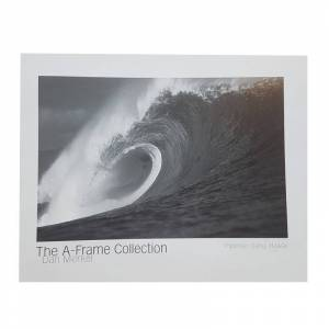 """THE A-FRAME COLLECTION Poster Photo Surf A-FRAME COLLECTION Dan Merkel """"Pipeline. Oahu, Hawaii"""""""